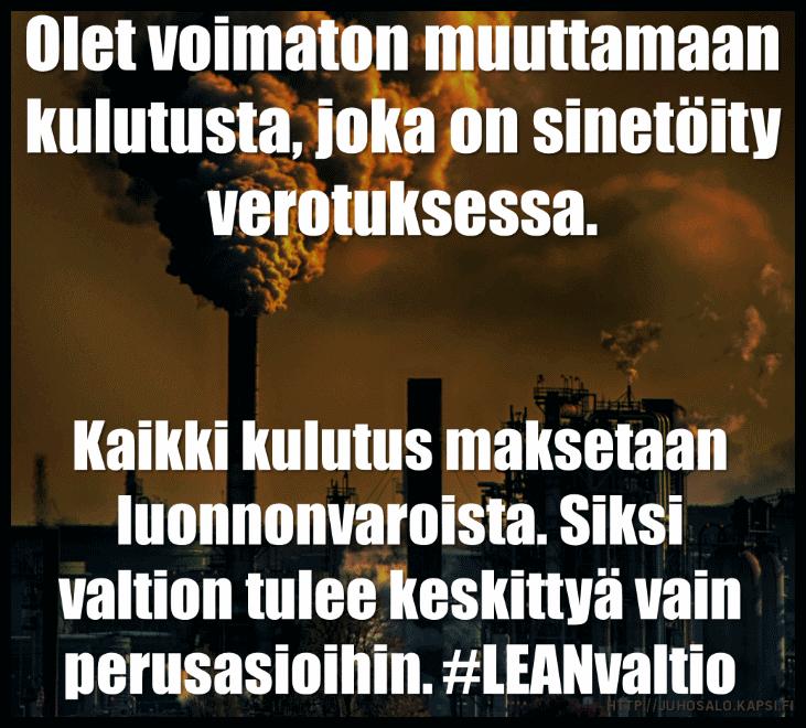 #leanvaltio, juhosalo, juho salo, ilmastonmuutos